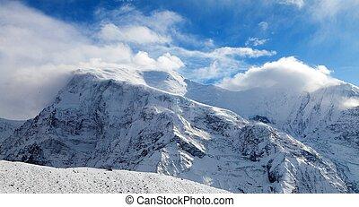 Panoramic view of Annapurna 3 III