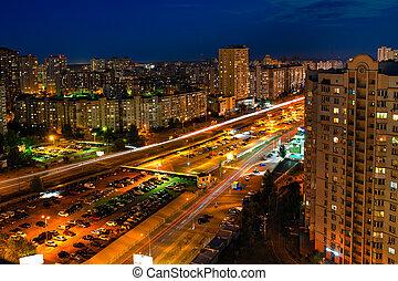 panoramic view of big city