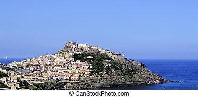 view of Castelsardo