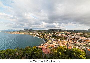 panoramic view of Castelsardo