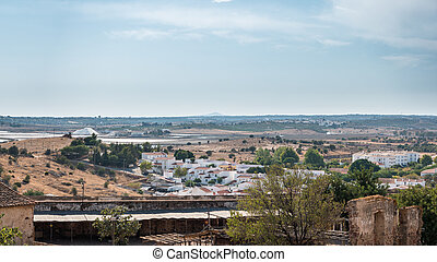 Panoramic view of Castro Marim