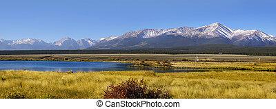 Colorado landscape - Panoramic view of Colorado landscape...