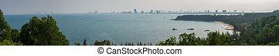 Panoramic view of Da Nang City Vietnam