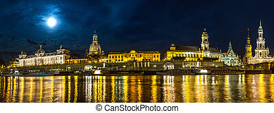 Dresden in night