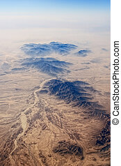 Mountain Range - Panoramic view of landscape of Mountain...