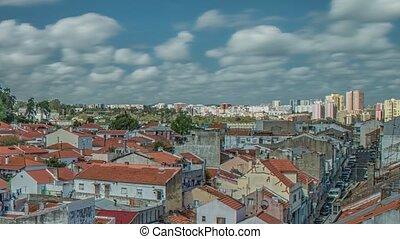 Panoramic view of Lisbon city - Lisbon Panorama. Lisbon is...