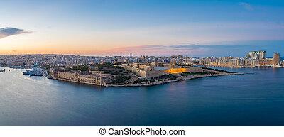 Panoramic view of Malta