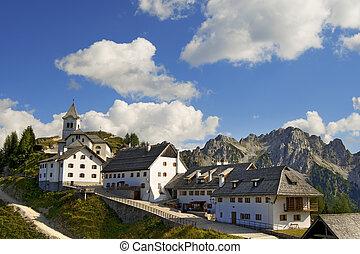 Panoramic View of Monte Lussari - Friuli Italy - Small...