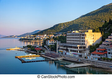 Panoramic view of Neum