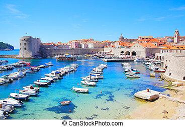Old port in Dubrovnik