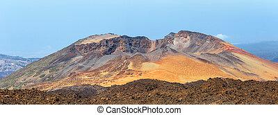 Panoramic view of Pico Viejo, El Teide National Park,...