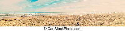 panoramic view of Pismo Beach