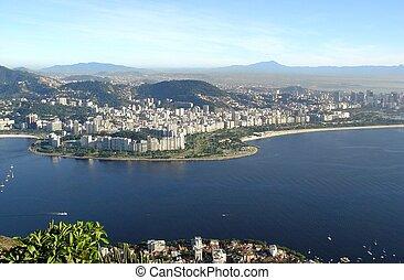 Panoramic view of Rio de Janeiro