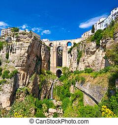 Panoramic view of Ronda, Andalucia, Spain
