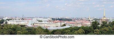 Panoramic view of Saint Petersburg