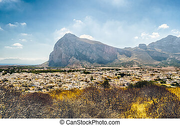 Panoramic View of San Vito Lo Capo, Sicily