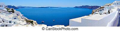 Oia in Santorini