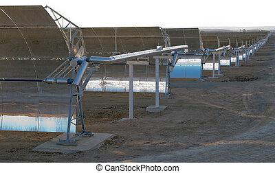 solar parabolic mirrors