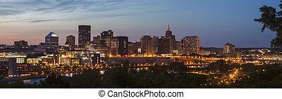 Panoramic view of St. Paul