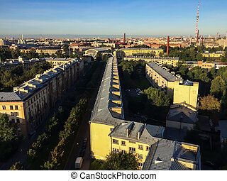 Panoramic view of St. Petersburg