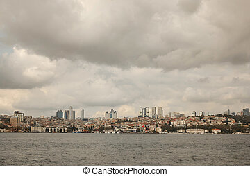 panoramic view of the city Istanbul