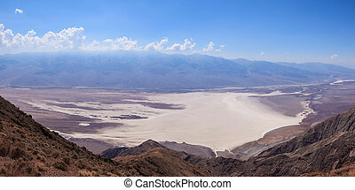 Panoramic view of the Death Valley in California - USA