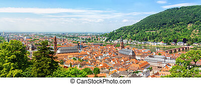 Panoramic view of the Heidelberg