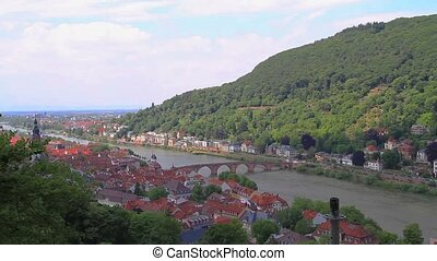 Panoramic view of the Heidelberg