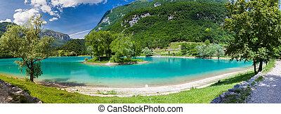 panoramic view of the lake Tenno