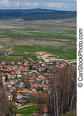view of village Belchin