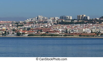 Panoramic View on the Lisbon and River