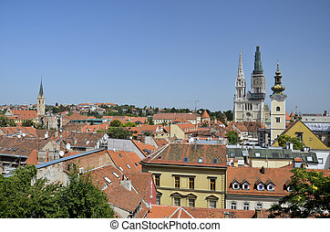Panoramic view, Zagreb 2