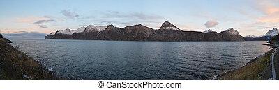 panoramiczny, 2, fiord