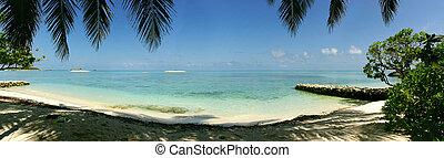 panoramiczny, laguna