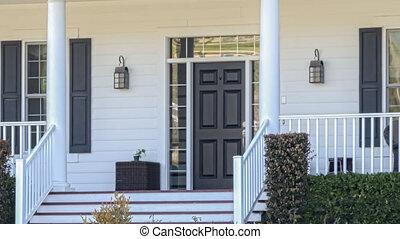 panoramique, maison, vendu, signe vente