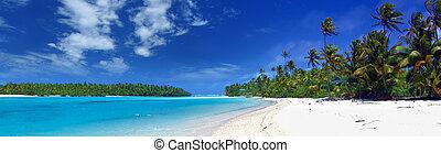 panoramisch, lagune