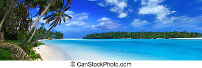 panoramisch, lagune, ii