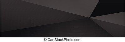 panoramisch, schwarzer hintergrund, linien, dunkel, kaputte