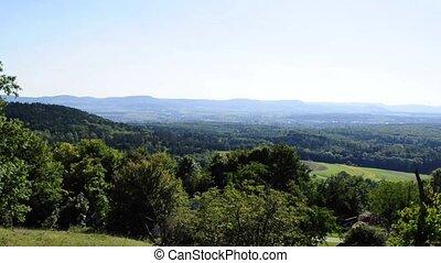 panoramisch,  swabian,  alb, Ansicht