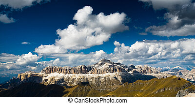 sella mountain range