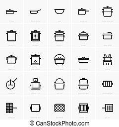 Pans and pots