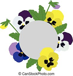 pansies illustrations and clip art 1 672 pansies royalty free rh canstockphoto com Flower Clip Art animated panda clipart