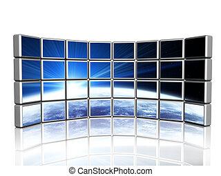 pantalla, 3d
