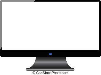 pantalla, computadora