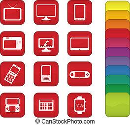 pantalla, iconos