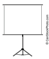 pantalla, presentación