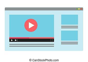 pantalla, tecnología computadora, caricatura