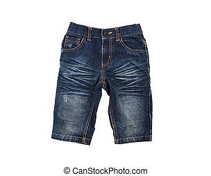 pantaloncini denim