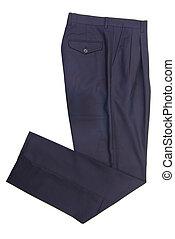 pantalones, pantalones, en, fondo.