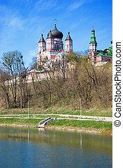 Monastery - Panteleimon Monastery of Theophany in Kiev...